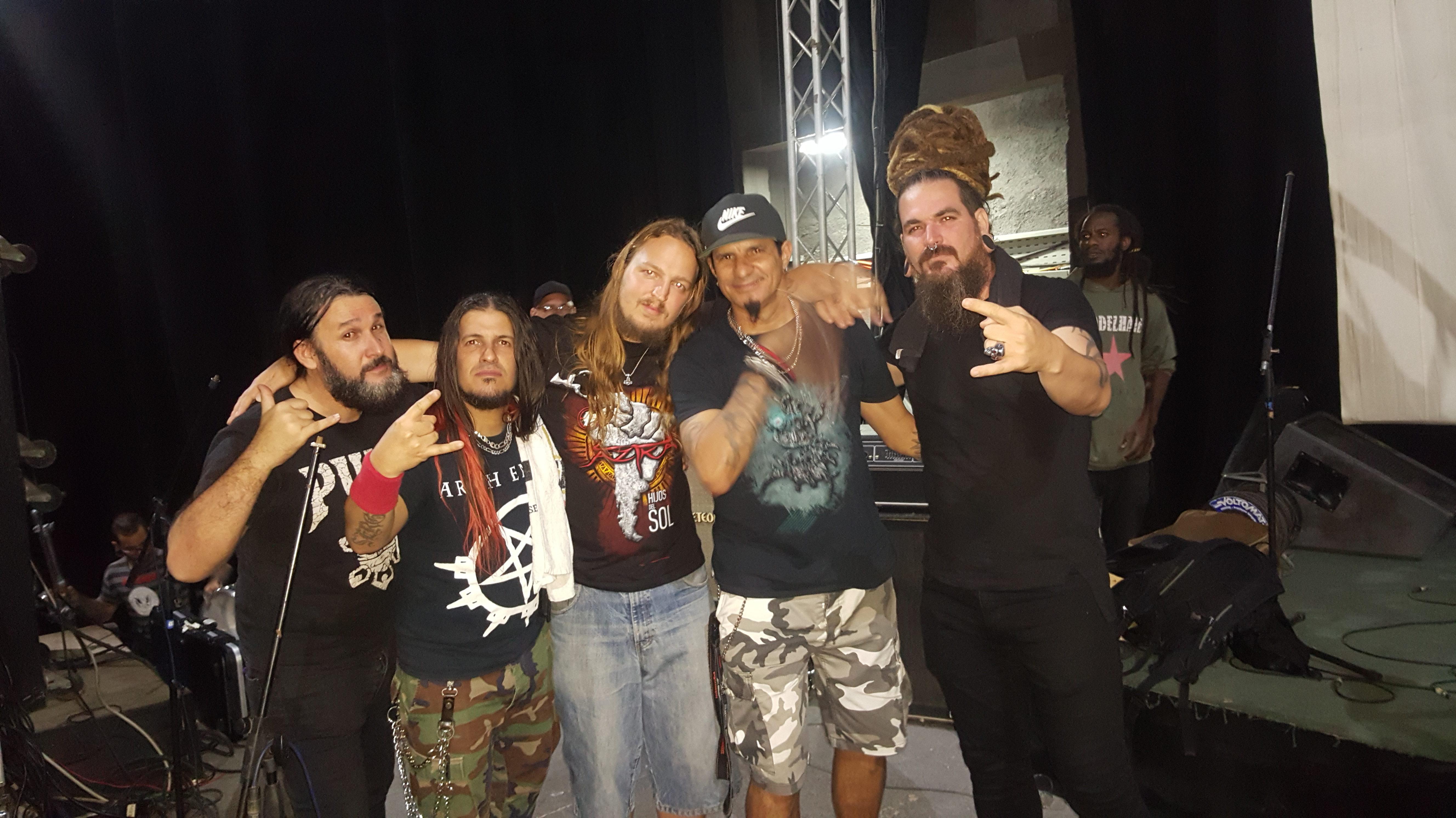 Jorge, Sergio, Kiko & Anier von Tendencia